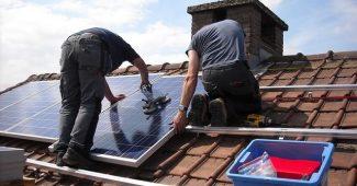 les panneaux solaires de toit
