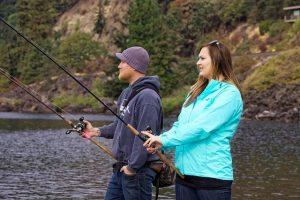 pêcher le saumon comme un pro